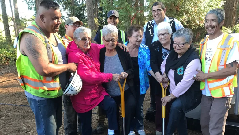 Musqueam Indian Band breaks ground on residential development