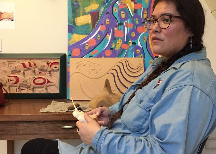 Indigenous artist residency explores meaning of unceded land and reconciliation