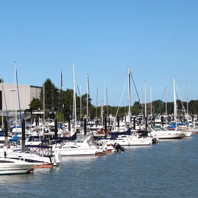 The @milltown_marina, co-owned by the Musqueam Indian Band, is a state-of-the-ar