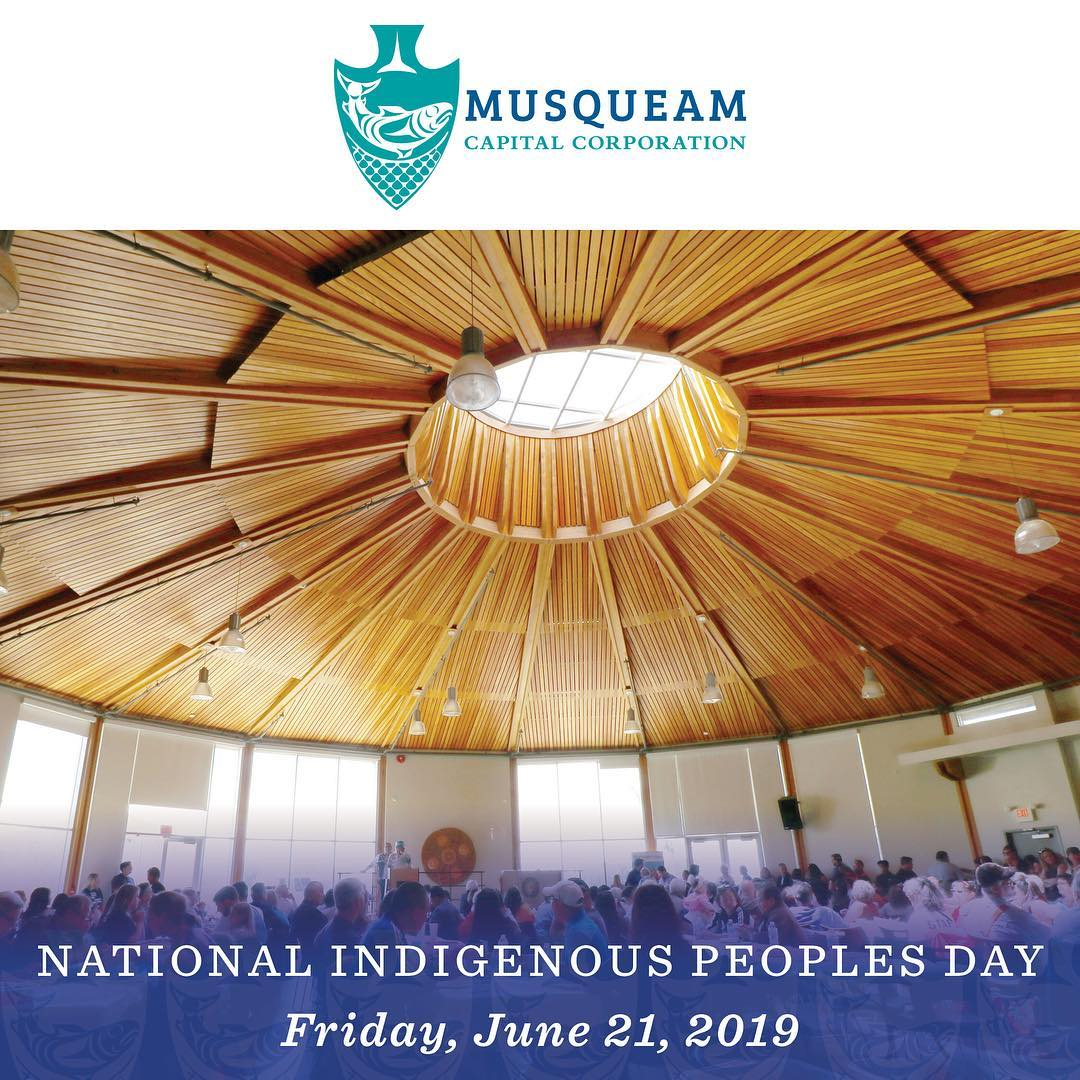 On Friday, June 21, the Musqueam proudly celebrate National Indigenous Peoples D