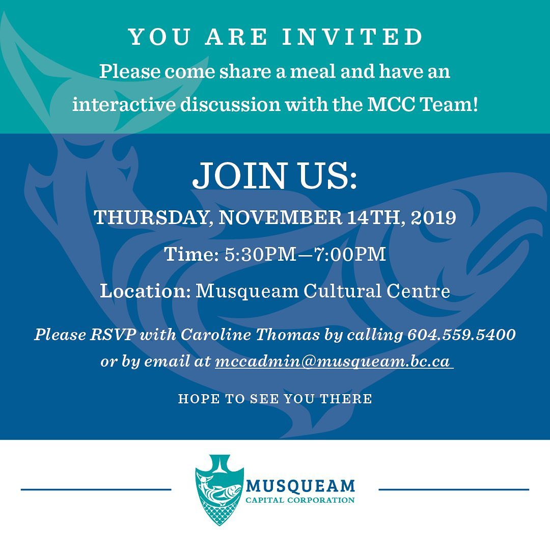 Please join us this Thursday, November 14th, for a community dinner and interact