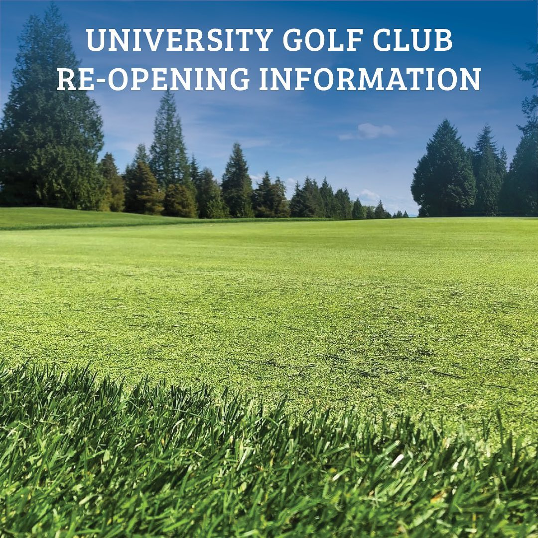 We are pleased to announce that the University Golf Club (@universitygolf) will