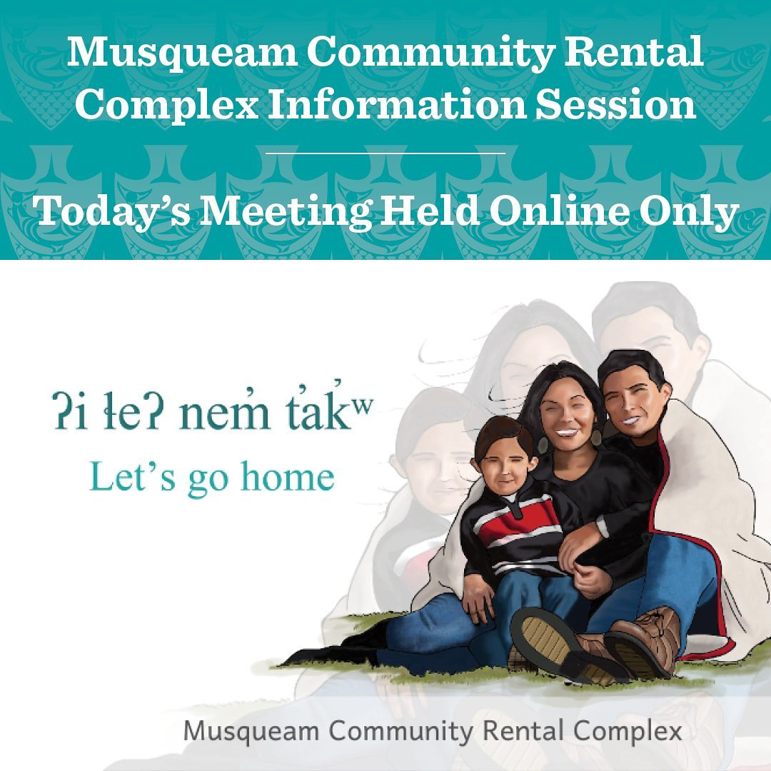 Our priority is to keep Musqueam safe. Due to a number of COVID-19 cases on the