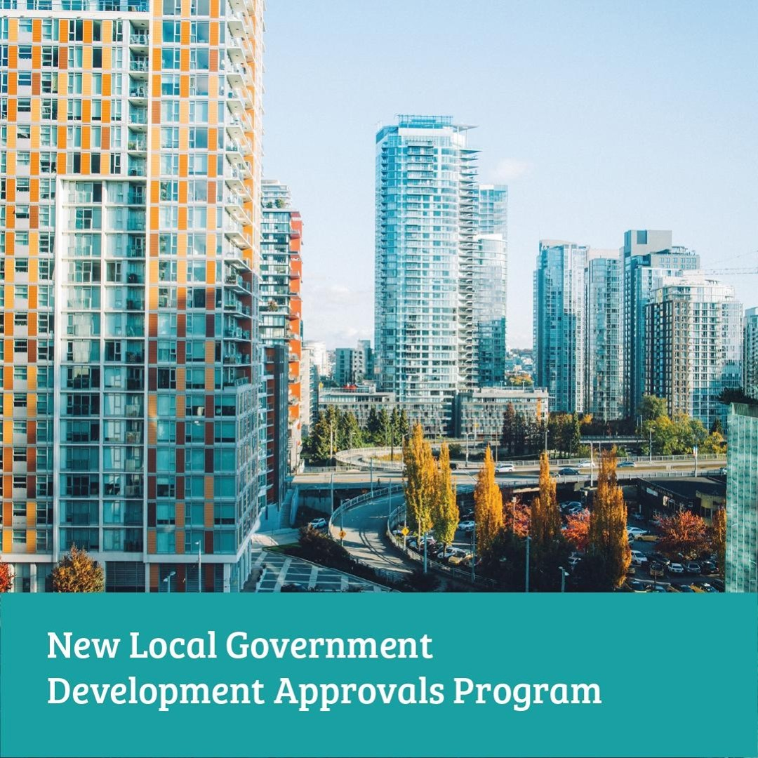 The B.C. government just announced the Local Government Development Approvals Pr