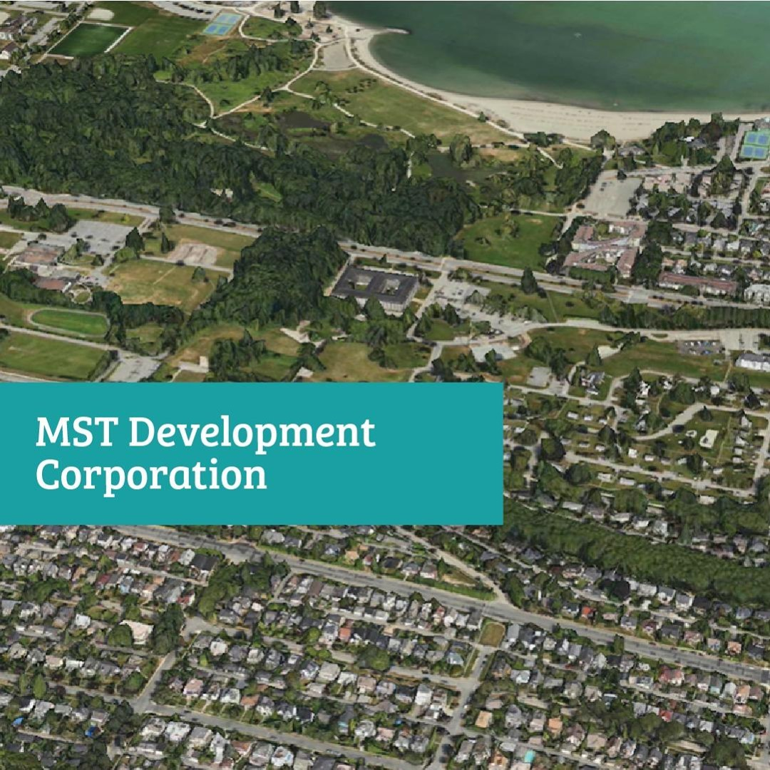 The MST Development Corporation is a proud partnership of the Musqueam Indian Ba