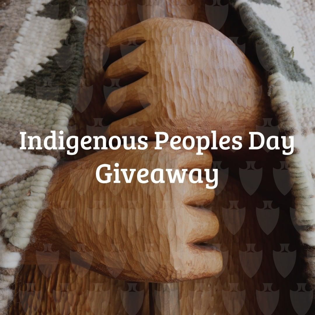 Happy Indigenous Peoples Day! To celebrate, we're hosting our very first giveawa