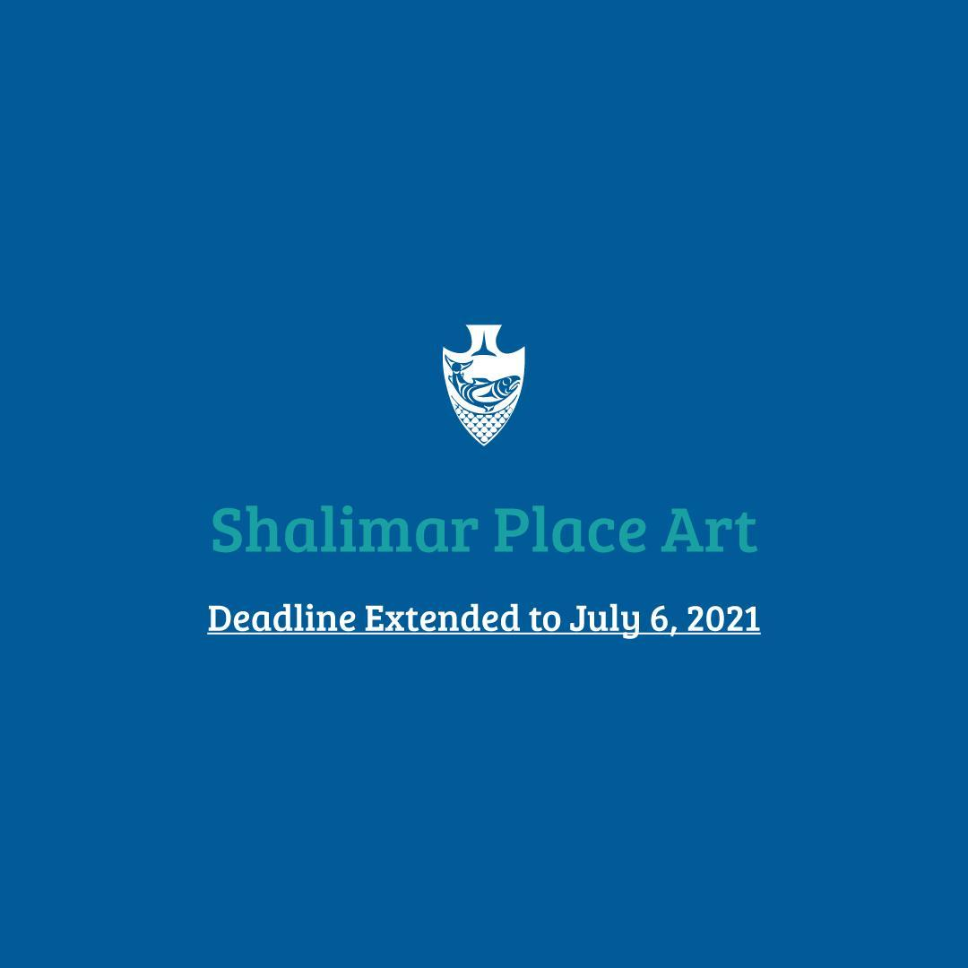 We're extending the deadline for the call of interests to design Shalimar Place'
