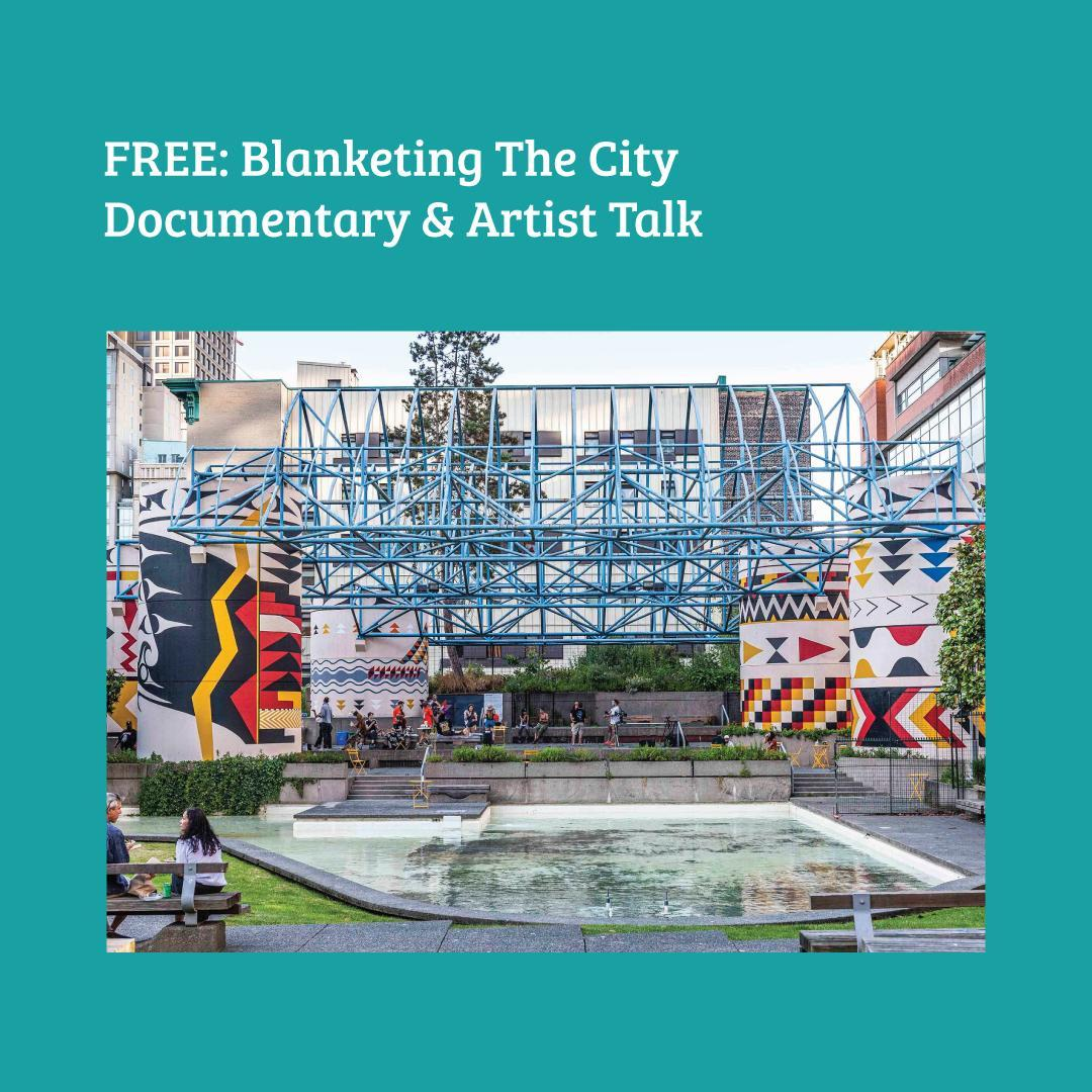 The @vanmuralfest is launching the documentary that highlights the Blanketing th