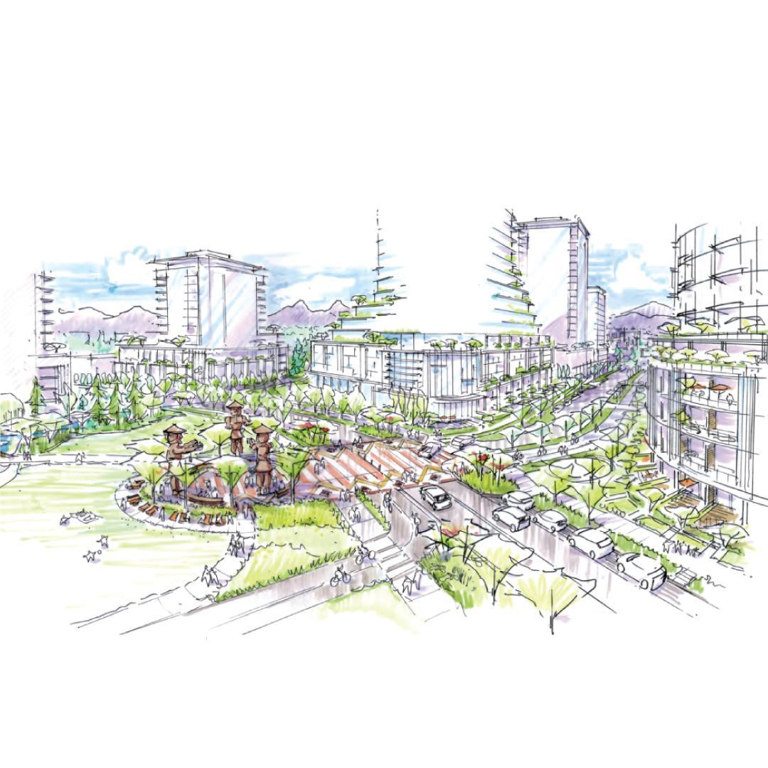 Located on 21 acres in the Cambie Corridor, the Heather Lands is designed to be