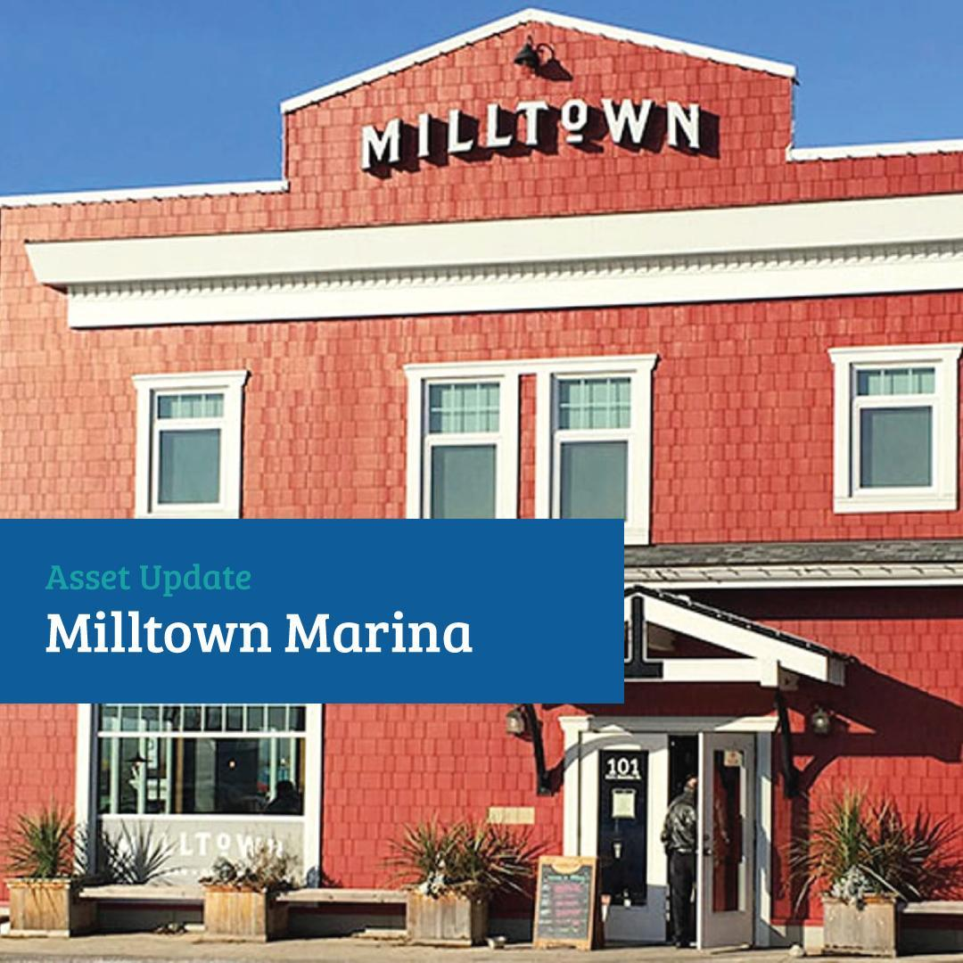 Asset Update: @milltown_marina  The business of the Marina, for the most part ha