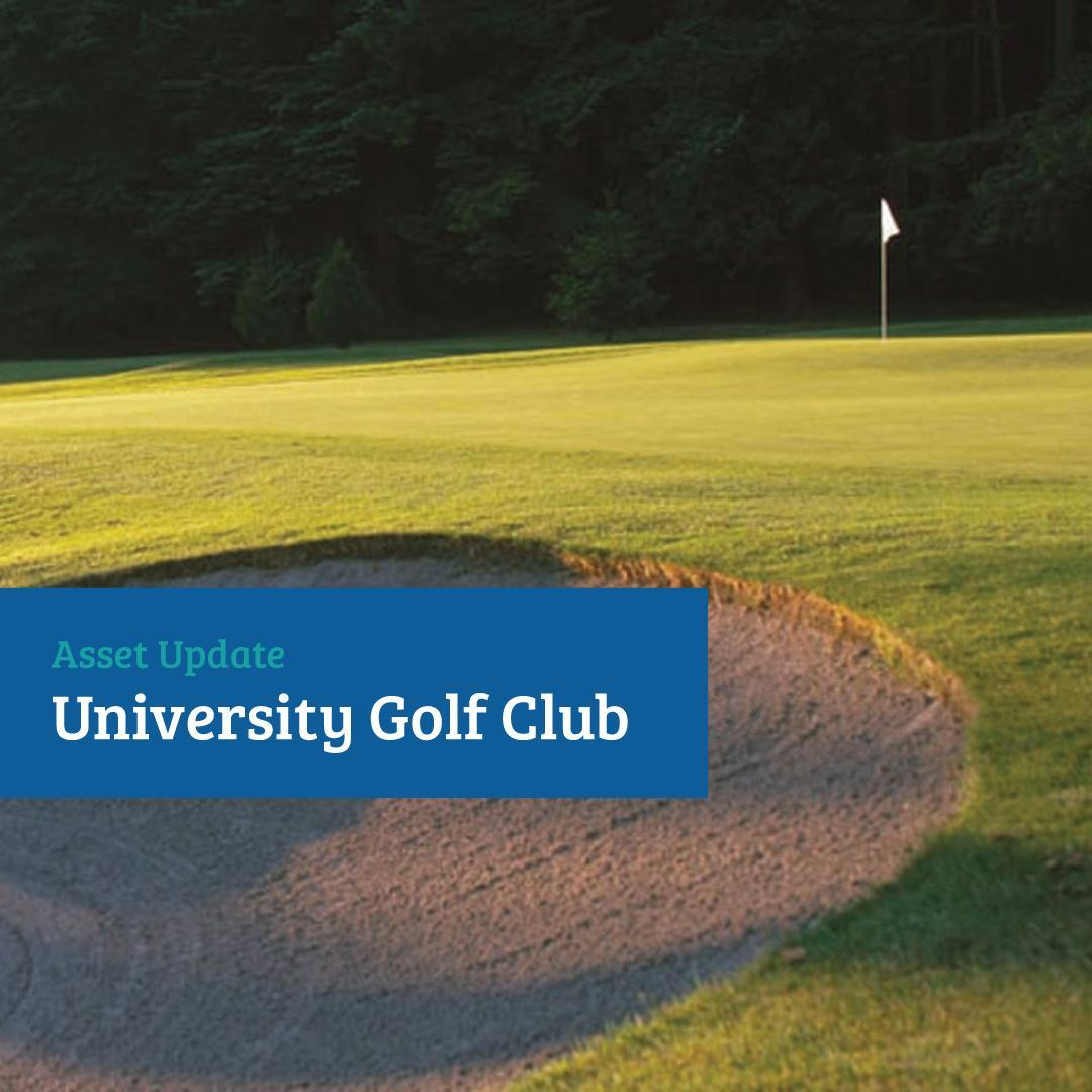Asset Update: @universitygolf (UGC)  This past winter (Jan–March 2021) and sprin