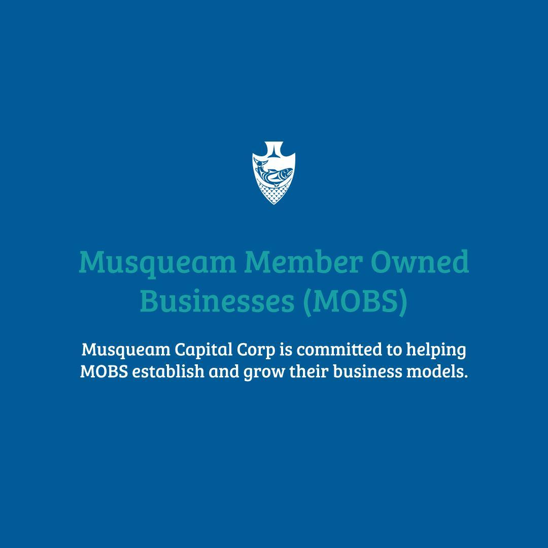 One of our objectives at MCC is to work closely with the Musqueam Member Owned B