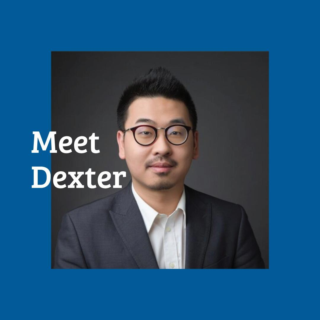 Meet Dexter!   Dexter comes with six years of experience in real estate project