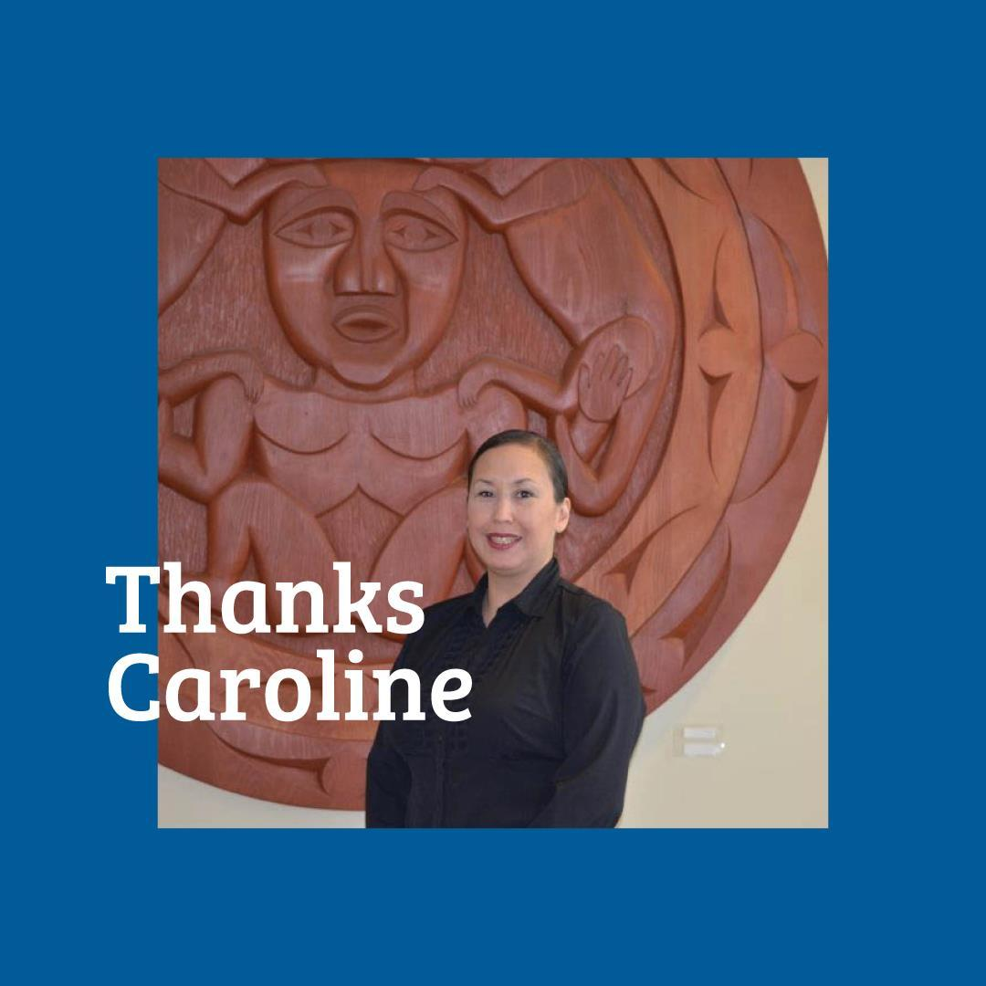 Our long-term teammate, Caroline Thomas, will be leaving MCC and she will be tak