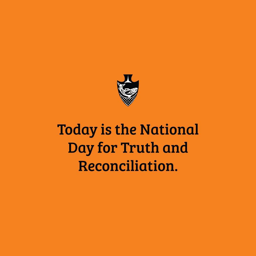 Today is Orange Shirt Day, also known as National Day for Truth and Reconciliati
